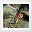 Miles From Everywhere Art Print