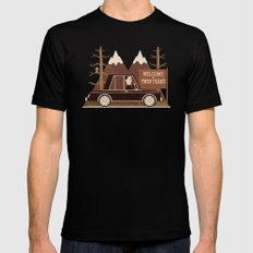 A Place Both Wonderful And Strange Mens Fitted Tee Black SMALL