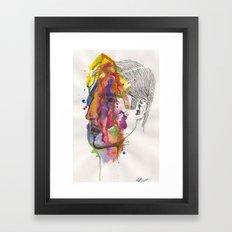 Breathe In Colour Framed Art Print