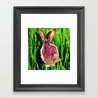 Rabbit Town Framed Art Print