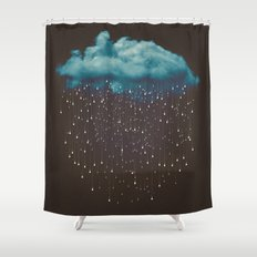 Let It Fall Shower Curtain