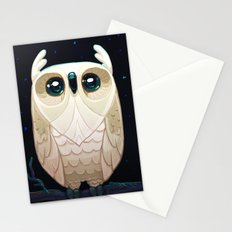 Starla the Owl Stationery Cards