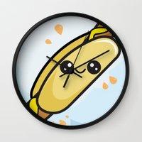 Hot Dog Wall Clock