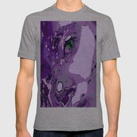 Model Geisha Mens Fitted Tee Athletic Grey SMALL