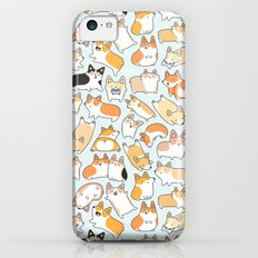 Corgilicious Corgi Doodle iPhone 5c Slim Case