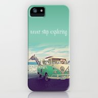 NEVER STOP EXPLORING THE… iPhone (5, 5s) Slim Case