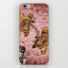 One Thousand Pardons: TummyBuddies: Psychic Warriors Connected by their Bellies iPhone & iPod Skin
