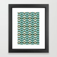 Native Pattern 12 Framed Art Print