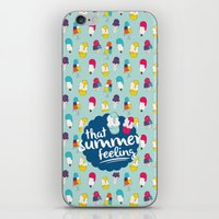 That Summer Feeling - Bl… iPhone & iPod Skin