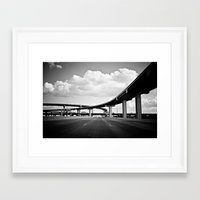 You Only Noticed Me Once I Was Already Gone Framed Art Print