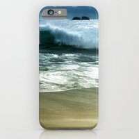 iPhone & iPod Case featuring Beach Wave by Elaine C Manley