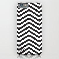 Black And White Chevrons iPhone 6 Slim Case