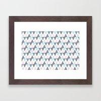 Tri Colour Two Framed Art Print