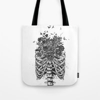 New life (b&w) Tote Bag