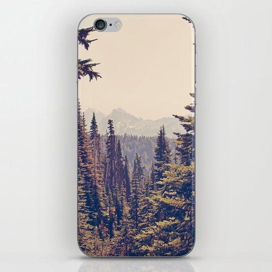 Mountains through the Trees iPhone & iPod Skin