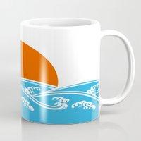 Japanese Tsunami  Mug