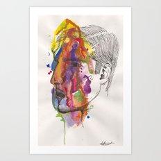 Breathe In Colour Art Print