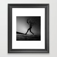NOBody: Homogeneous Stag… Framed Art Print