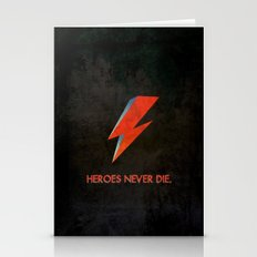 Heroes Never Die - For I… Stationery Cards