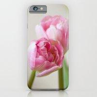 Soft tulips iPhone 6 Slim Case