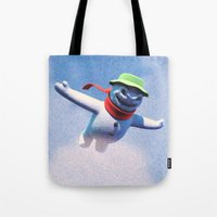 something scary in the air Tote Bag