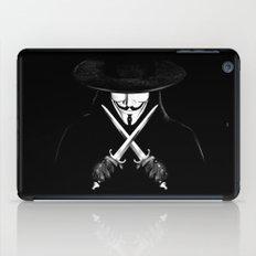 V for Vendetta (e7) iPad Case