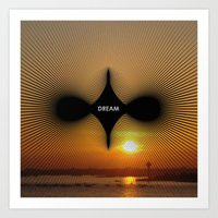 Art Print featuring DREAM by Pinar Demirkiran