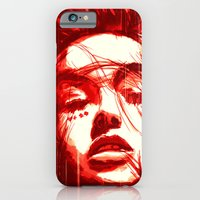 iPhone & iPod Case featuring Queen of Diamond by MUSENYO