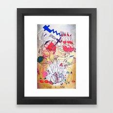 sarah tonin Framed Art Print