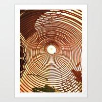 Incense Rings Art Print