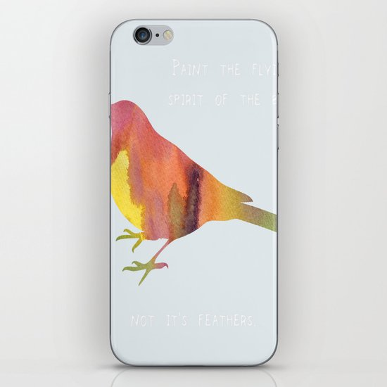 The Flying Spirit iPhone & iPod Skin