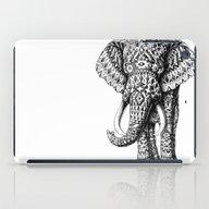 iPad Case featuring Navajo Elephant by BIOWORKZ
