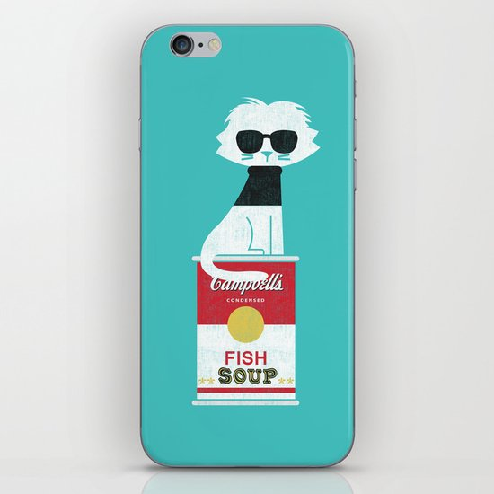 Mark The cat who Loves Andy iPhone & iPod Skin