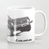 Lada Niva Mug