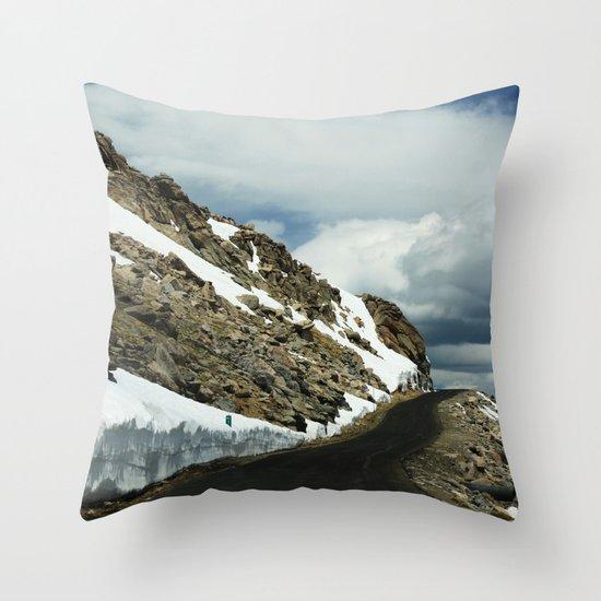 Mile 11 Throw Pillow