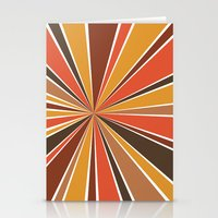 70's Star Burst Stationery Cards