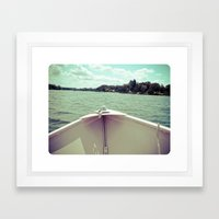 Sometime This Life, I'm Going to Sail Away Framed Art Print