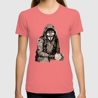 Anonymous Gangster Womens Fitted Tee Pomegranate SMALL