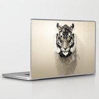 tiger Laptop & iPad Skins featuring Tiger by Rafapasta