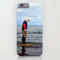 iPhone & iPod Case featuring A boy and The Sea 2 by NoelleB