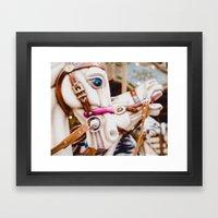 Carnival In Montmartre Framed Art Print