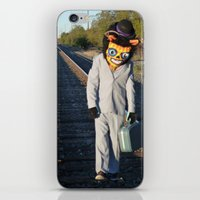 Long Road To Nowhere iPhone & iPod Skin