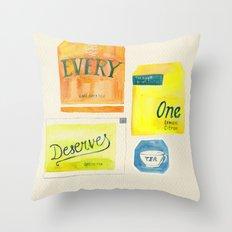 Lizzie Bennet #2 Throw Pillow