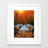 Get Real Get Right Framed Art Print