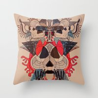 Illustrated Dreams Throw Pillow