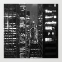 NEW YORK LIGHTS Canvas Print