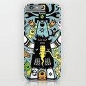 Guru Cat (blue time) iPhone & iPod Case