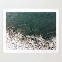 Wave Crash Art Print