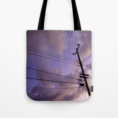 Lines Of Communication #2  Tote Bag