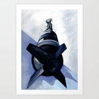 The End! (Zomblicity 7) Art Print